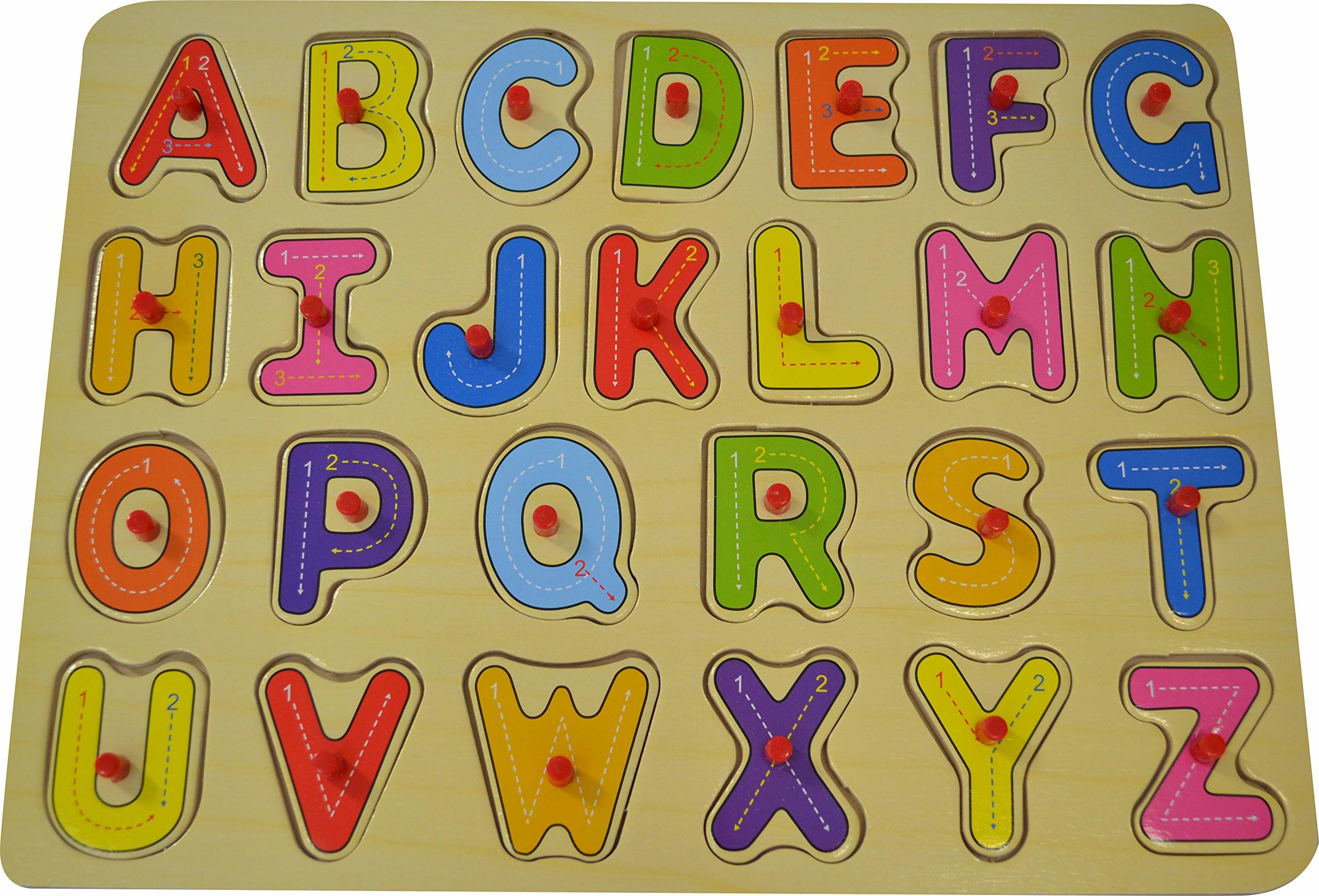 WDK Partner  Puzzle guziki alfabetu/cyfry, kdk1773/1775