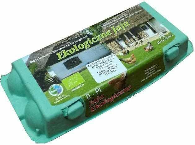 Jaja Ekologiczne Kurze Jajka - 10 sztuk - Szerszeń