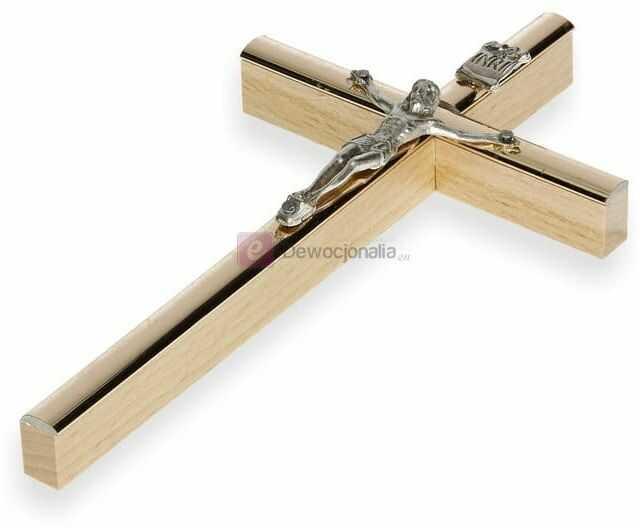 Krzyż na ścianę 13cm (mały) - kolorystyka do wyboru
