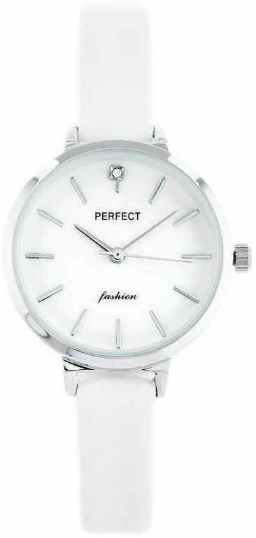ZEGAREK DAMSKI PERFECT A3019 (zp884a) - white