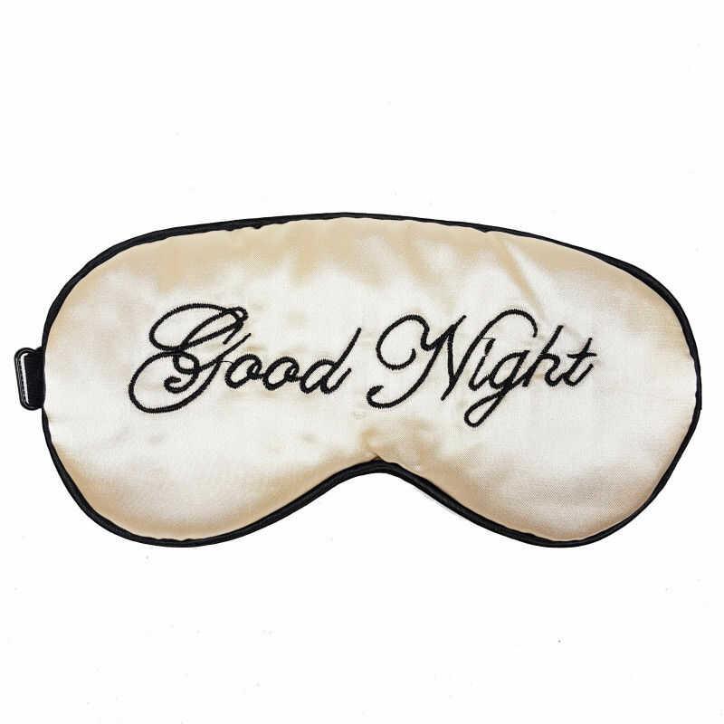 Opaska na oczy do spania satyna Good Night BS001191