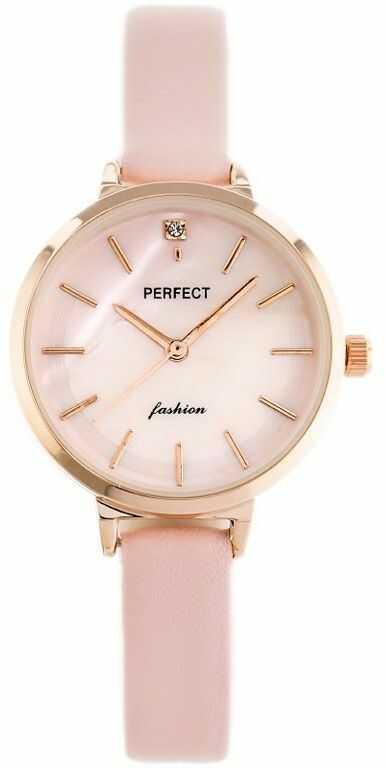 ZEGAREK DAMSKI PERFECT A3019 (zp884c) - pink