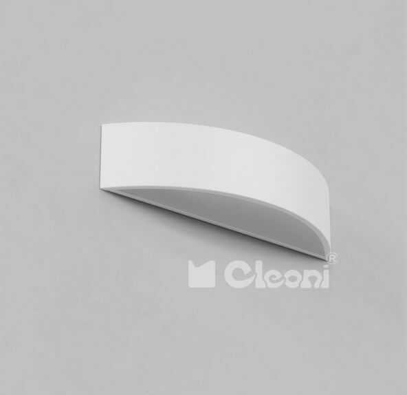Cleoni kinkiet Aba biały 1267KB1AE1117