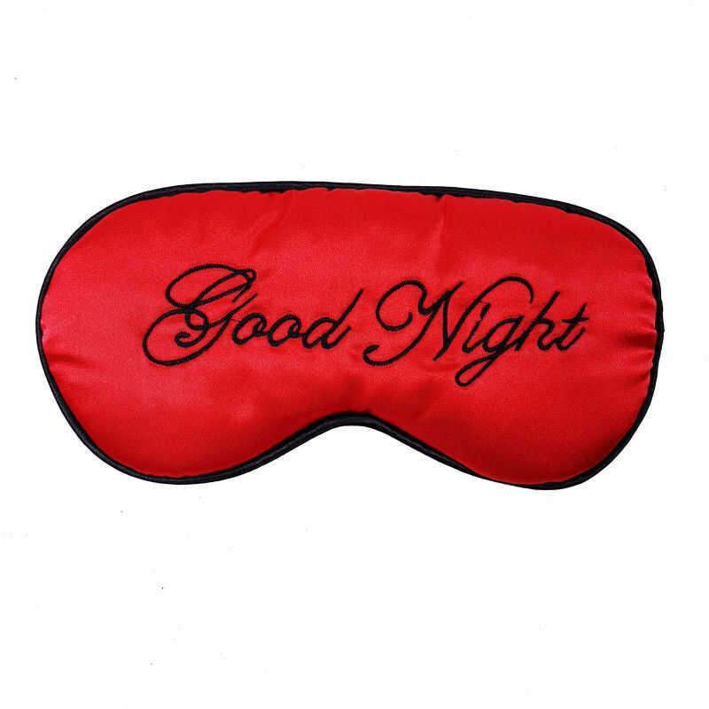 Opaska na oczy do spania satyna Good Night BS001192