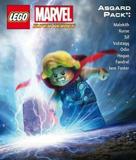 LEGO Marvel Super Heroes: Asgard Pack DLC (PC) PL klucz Steam