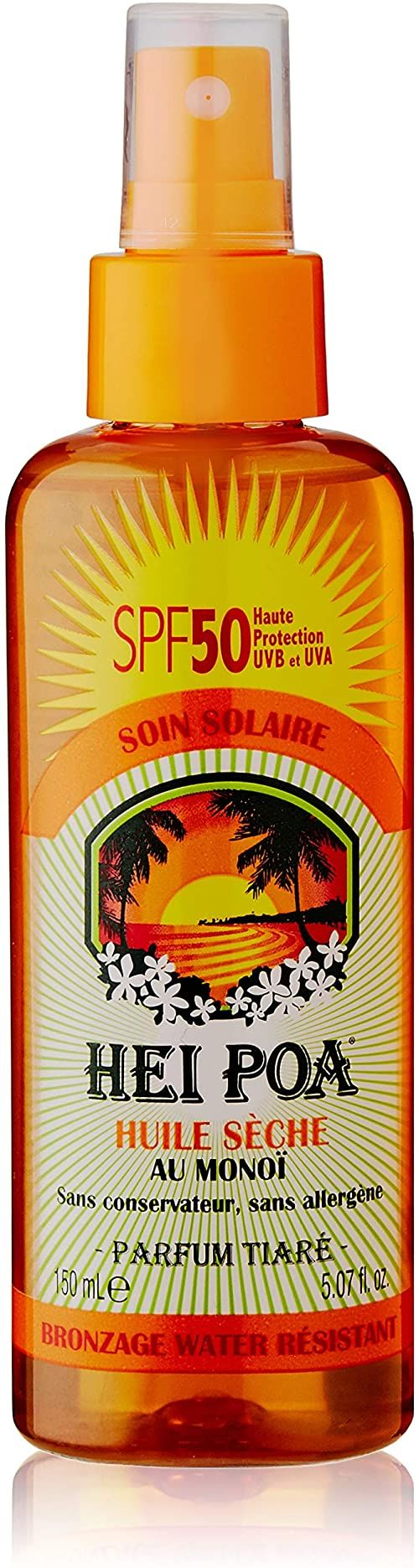 Hei Poa Body Sun Filter (suchy olej na monoï, LSF 50)  150 ml