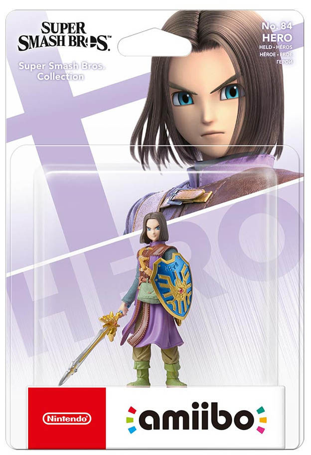 Dragon Quest Hero No. 84 / Super Smash Bros. Collection / Figurka Amiibo / Warszawa / 533 111 700