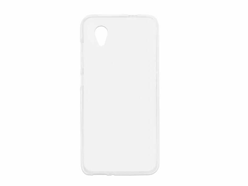 Alcatel 1 (2019) - etui na telefon FLEXmat Case - biały