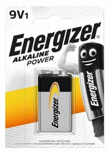 Bateria alkaliczna 6LR61 9V Energizer Alkaline Power - 1 sztuka (blister)