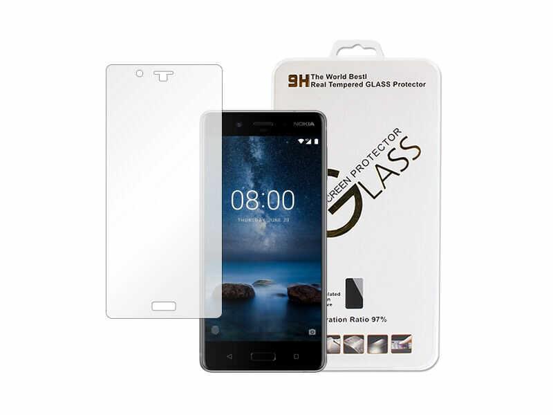 Nokia 8 - szkło hartowane 9H