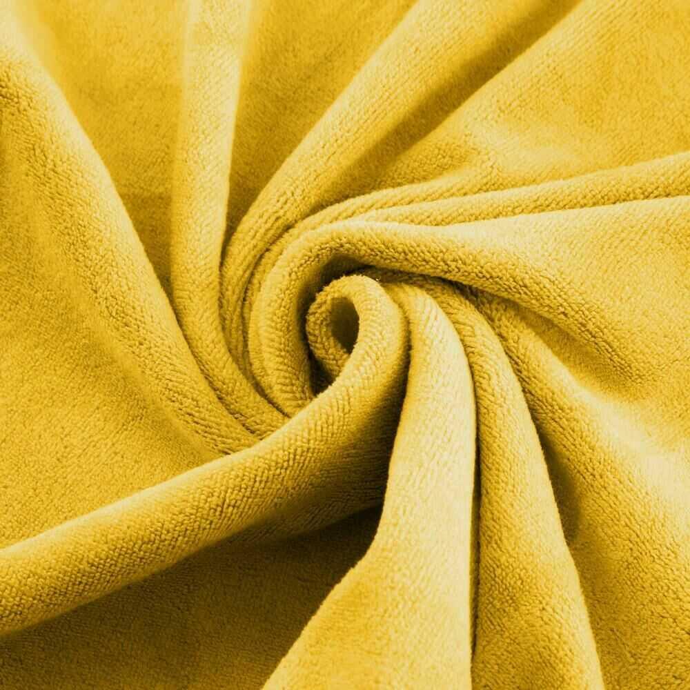 Ręcznik Szybkoschnący Amy 70x140 19 musztardowy 380 g/m2 Eurofirany