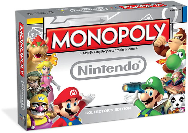 Gra Monopoly - Nintendo Edition - Wersja ENG
