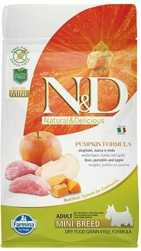 Farmina N&D Pumpkin Boar&Apple Adult Mini Dog