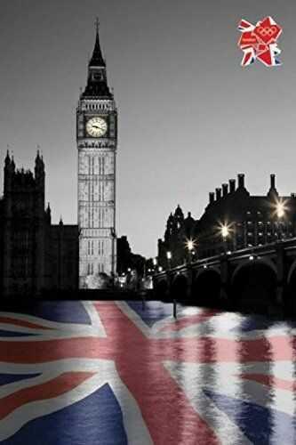 """1art1 54519 plakat 91 x 61 cm igrzyska olimpijskie w Londynie 2012 """"Big Ben"""" autorstwa Tanya Chalkin"""