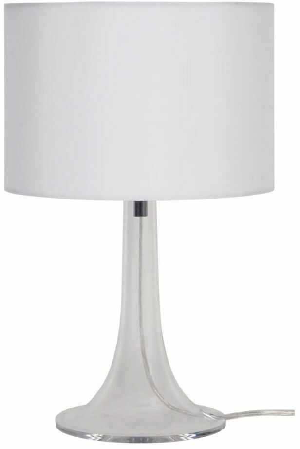 Lampa stołowa Klara biała E27 Inspire