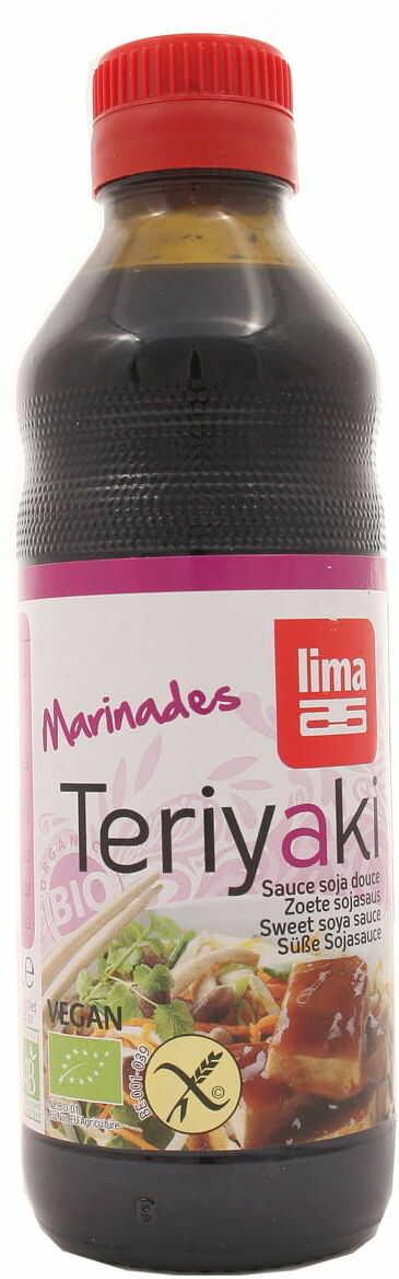 Sos sojowy teriyaki BIO - Lima - 250ml
