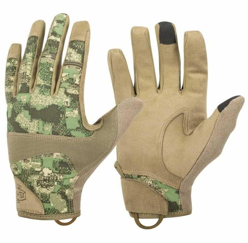 Rękawice Helikon Range Tactical PenCott WildWood/Coyote (RK-RNG-PO-4511A) H