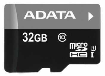 Karta pamięci ADATA Micro SDHC 32GB UHS-I U1 Class 10 (AUSDH32GUICL10-R)