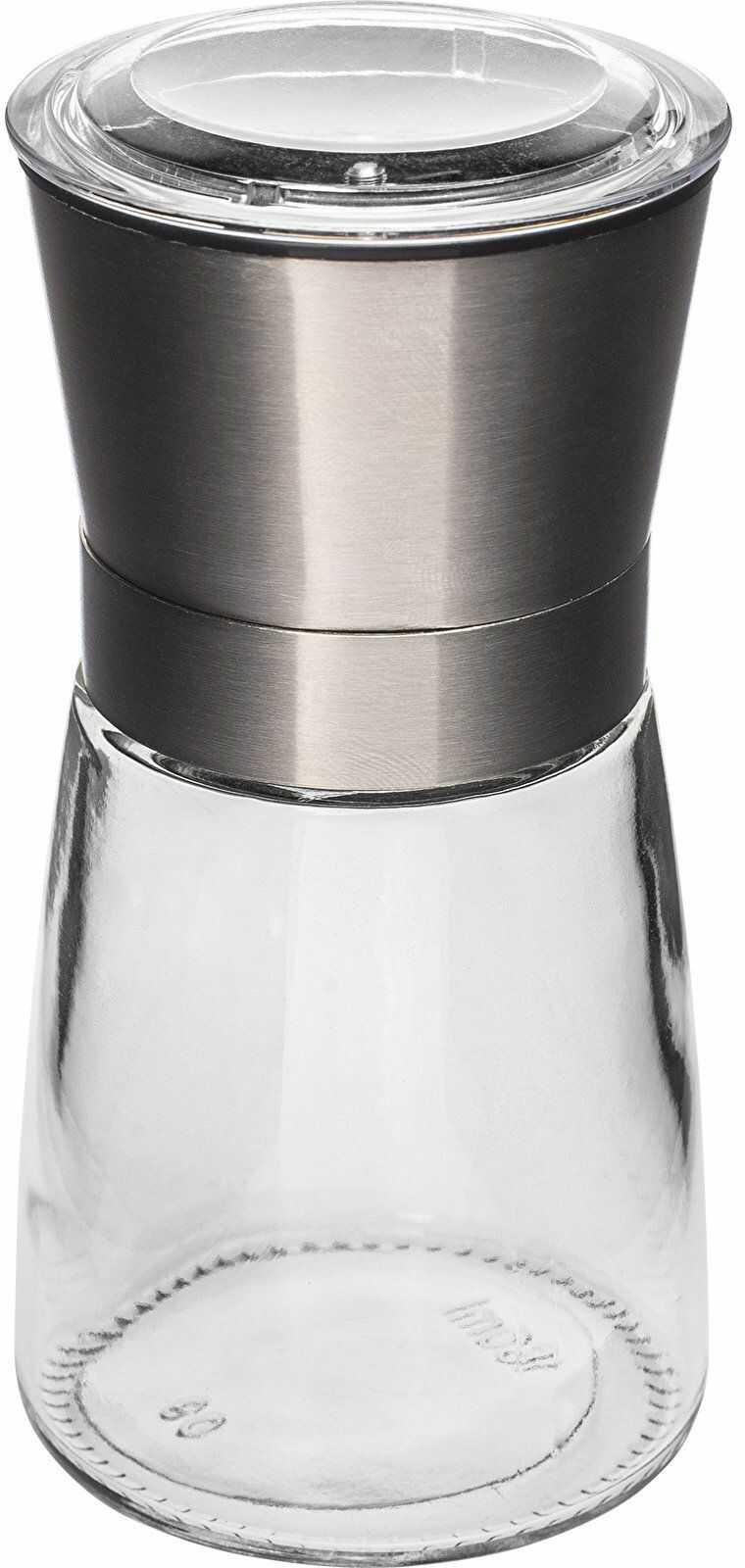 Młynek ręczny do pieprzu i soli, 13 cm