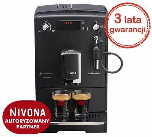 Ekspres do kawy NIVONA CafeRomatica 520 - Czarny / 3 lata gwarancji