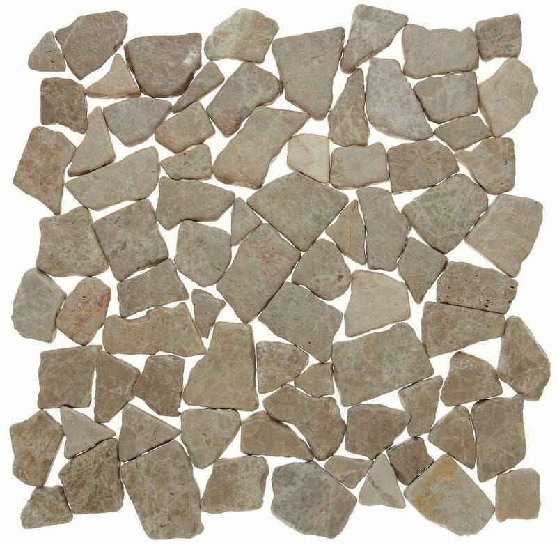 DUNIN Zen mozaika kamienna Grind Stone Beige
