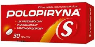 Polopiryna S 30 tabletek
