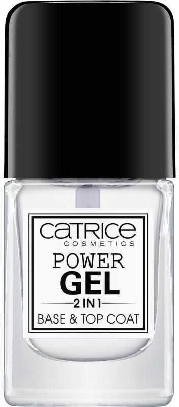 Catrice - POWER GEL 2 IN 1 - BASE & TOP COAT - Baza i lakier nawierzchniowy w jednym