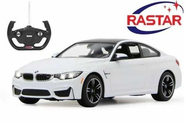 Duże Licencjonowane Zdalnie Sterowane BMW M4 COUPE (1:14) + Bezprzewodowy Pilot.