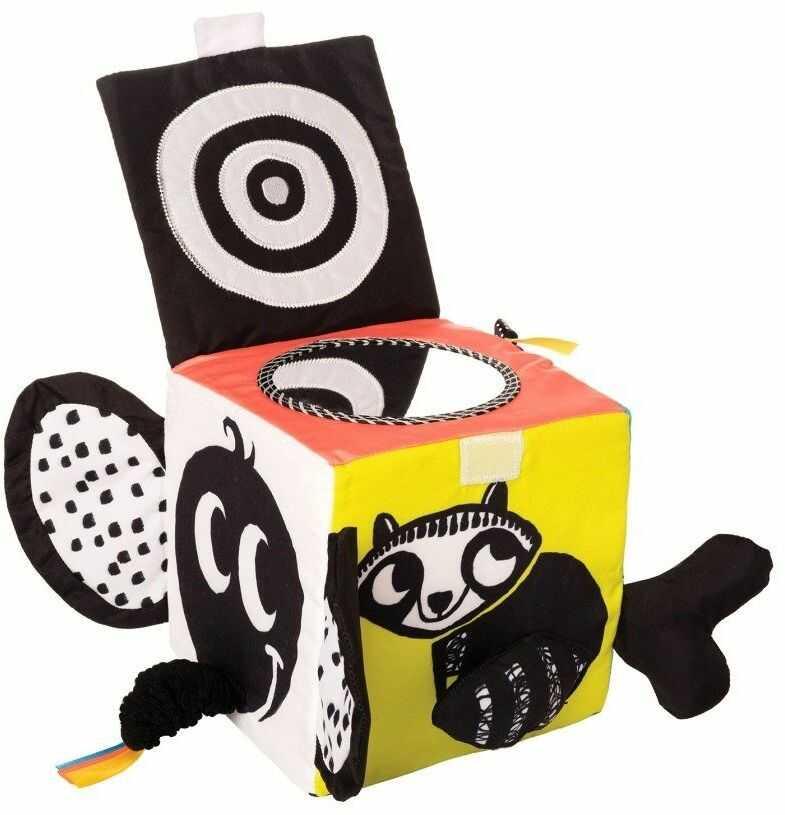 Miękka kostka Mira Wimmer Ferguson 217510-Manhattan Toy, zabawki dla niemowląt