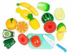 Zestaw warzyw i owoców do krojenia