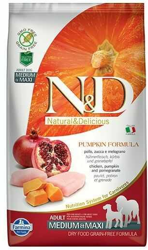 Farmina N&D Pumpkin Chicken&Pomegranate Adult Medium/Maxi Dog