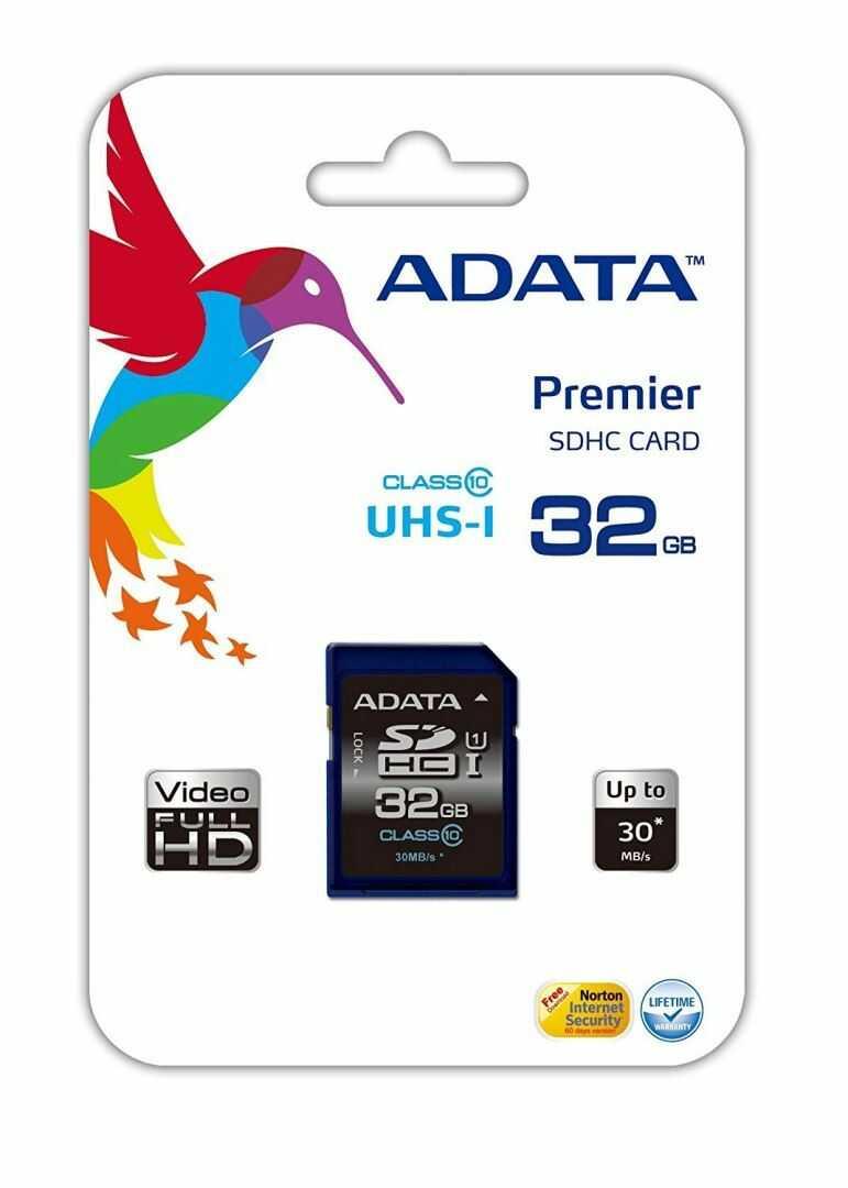 Karta pamięci ADATA SDHC 32GB Class 10 (ASDH32GUICL10-R)