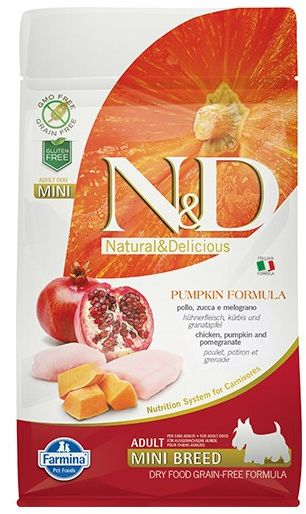 Farmina N&D Pumpkin Chicken&Pomegranate Adult Mini Dog