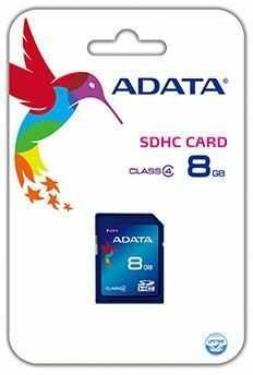 Karta pamięci ADATA SDHC 8GB Class 4 (ASDH8GCL4-R)