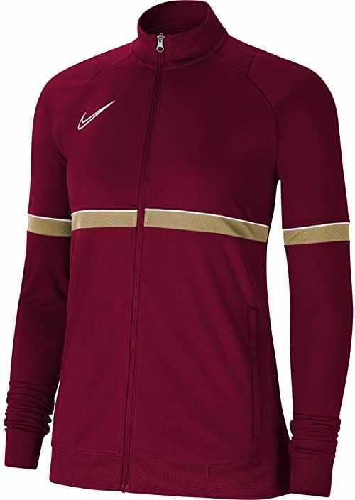 Nike Damska kurtka damska Academy 21 Track Jacket Team Red/White/Jersey Gold/White S
