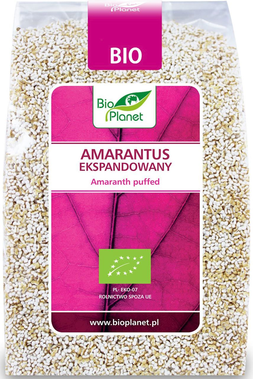 Amarantus ekspandowany bio 100 g - bio planet