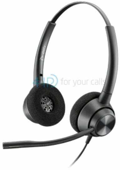 Plantronics EncorePro 320 słuchawka call center na szybkozłączkę (Quick Disconnect)