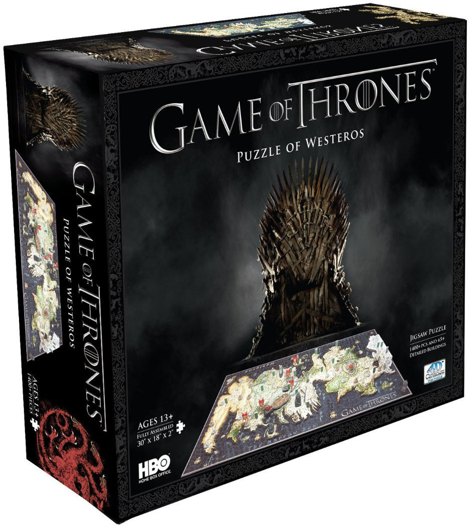 Puzzle 4D - Gra o tron Westeros (Game of Thrones)