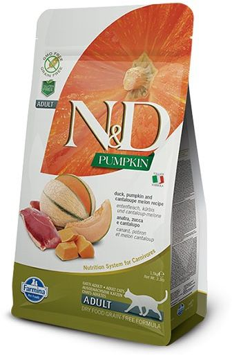 N&D Pumpkin Duck & Cantaloupe Melon Adult Cat