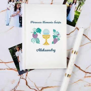 Komunia - Personalizowany Album na zdjęcia