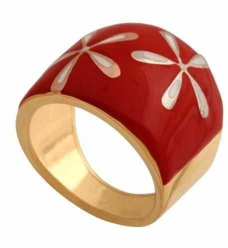 Złoty pierścionek nowoczesny Pn145