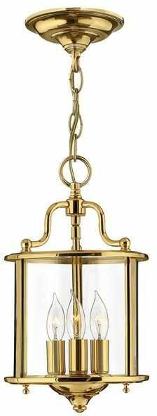 Lampa wisząca Gentry HK/GENTRY/P/S PB Hinkley mosiężna oprawa w klasycznym stylu