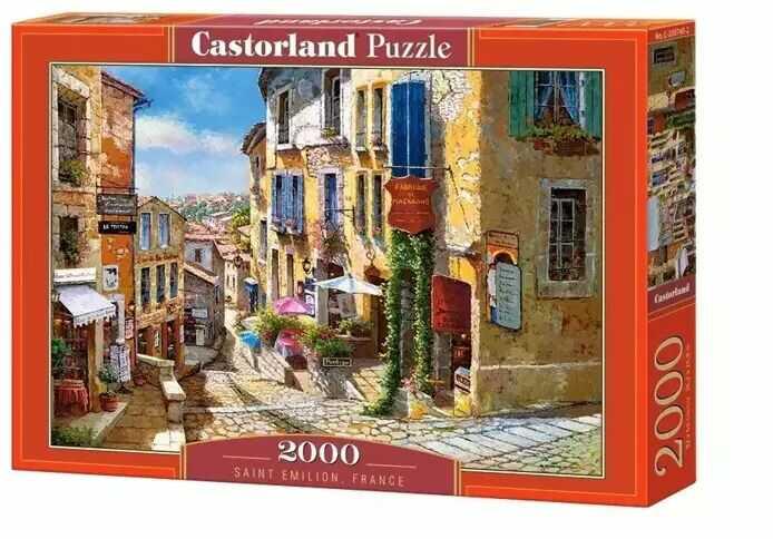 Puzzle 2000 Saint Emilion France - Castorland