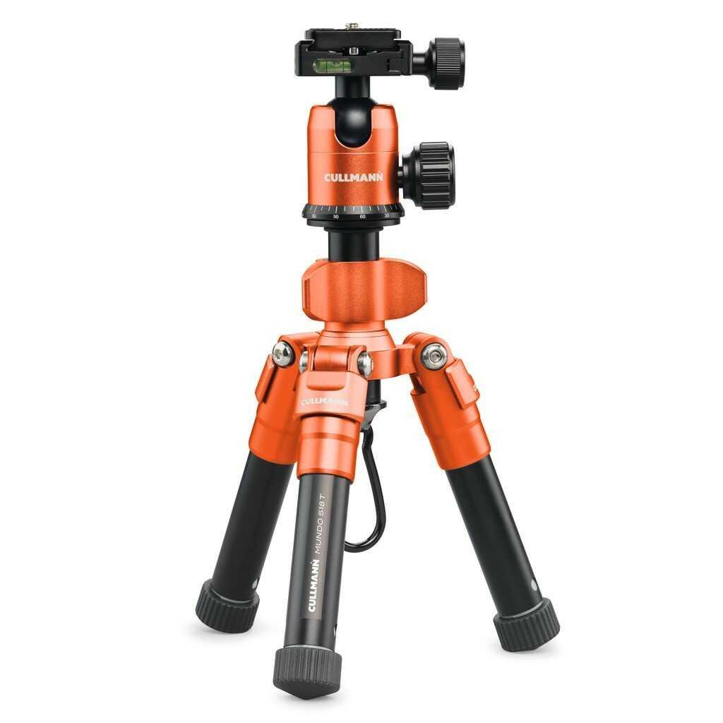 Statyw fotograficzny Cullmann MUNDO 518T pomarańczowy
