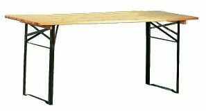 Stół składany BS piknikowy, piwny o długości 2,2 m