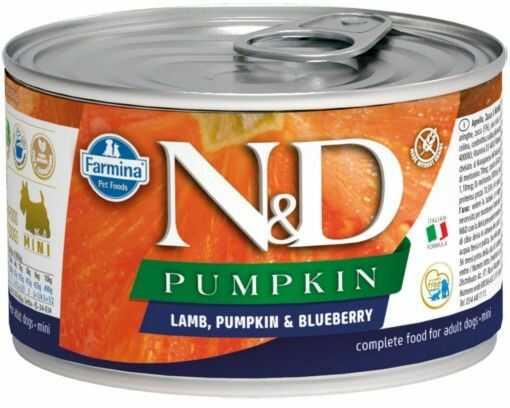 N&D PUMPKIN LAMB & BLUEBERRY Adult Dog