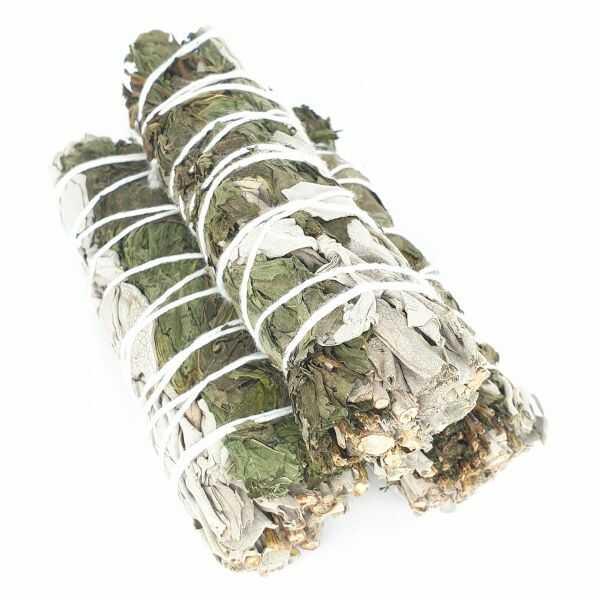 Biała szałwia & mięta pieprzowa (pęk mały)