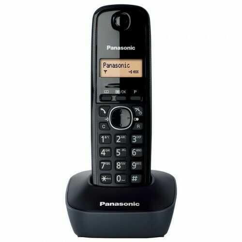 KX-TG1611 Telefon bezprzewodowy CZARNY - Panasonic