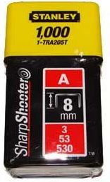 Zszywki tapicerskie typ53 Stanley 8mm