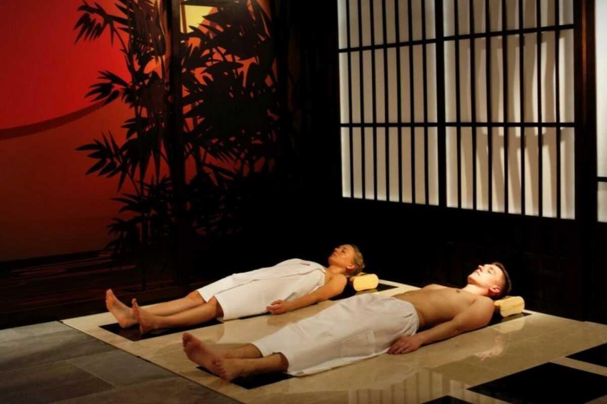 Seans w saunie japońskiej  Tychy